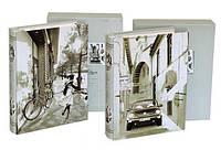 Фотоальбом в коробке самоклейка 20 листов (210х265 см)