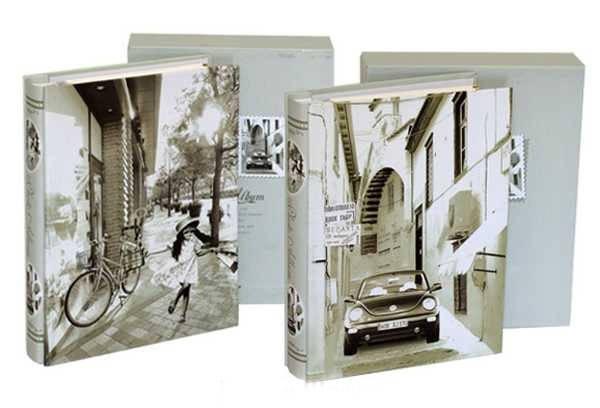 Фотоальбом в коробке самоклейка 20 листов (210х265 см), фото 2