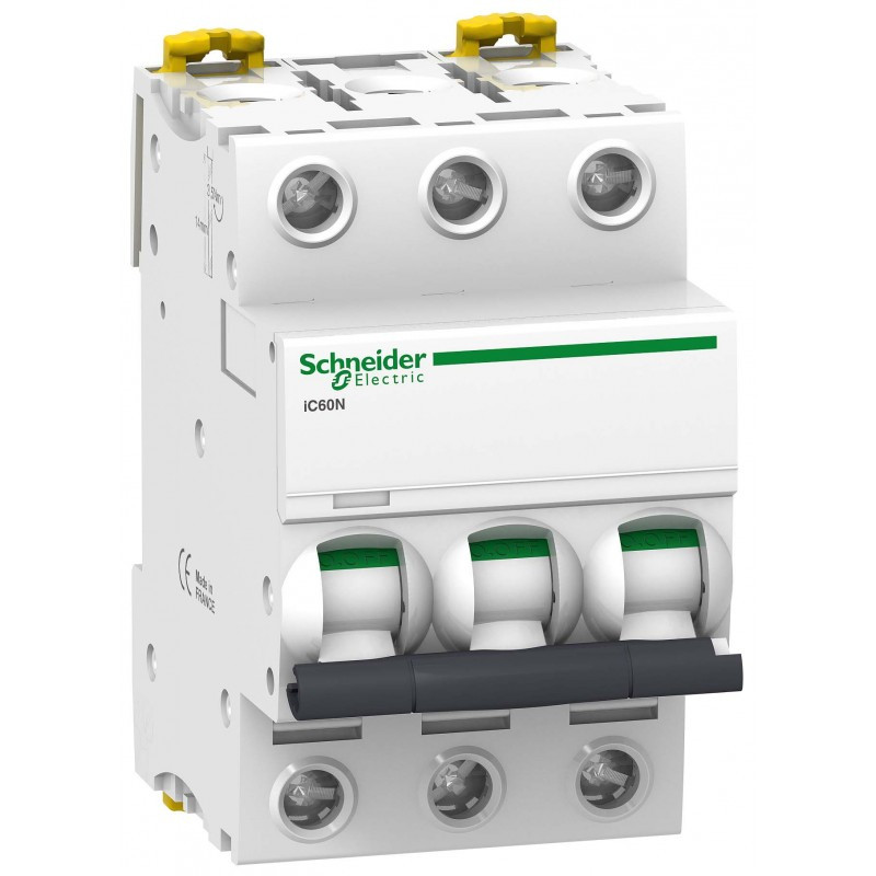 Автоматичний вимикач Schneider Electric Acti 9 iC60N(H) 3p 32A C 6kA A9F79332