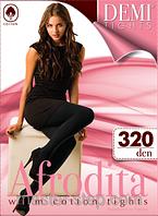 """Хлопковые тёплые колготы """"Afrodita"""" 320 DEN"""