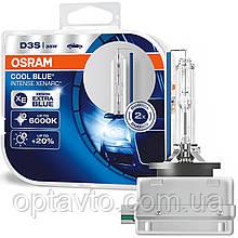 Автолампи ксенон OSRAM 66340CBI-DUO CoolBlueIntense D3S 85V 35W PK32d-5 XENARC HardDuopet