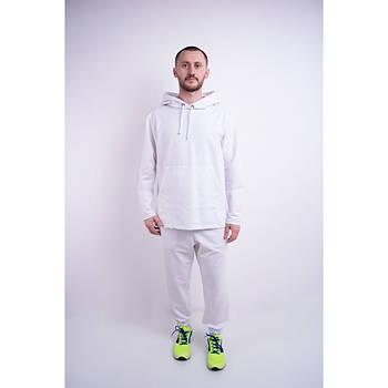 / Размер 44,46,48,50,52 / Мужской спортивный костюм Майрин / цвет белый