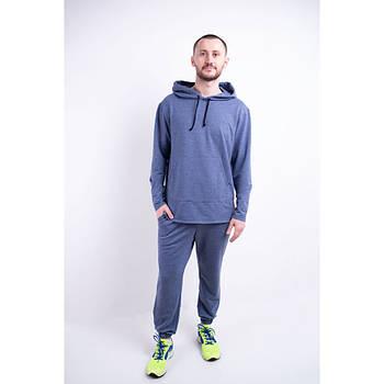 / Размер 44,46,48,50,52 / Мужской спортивный костюм Майрин / цвет синий