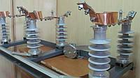 Разъединитель РЛНДЗ-10 IV/100 с полимерными изоляторами, фото 1