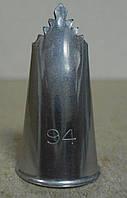 Насадка д/крема  Ateco №94 (код 04555)