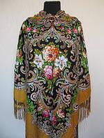 Роскошный шерстяной украинский платок Турция , фото 1