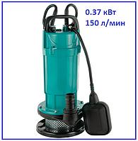 Насос канализационный 370Вт 150л/мин Aquatica дренажный фекальный садовый полив и откачка ям септиков