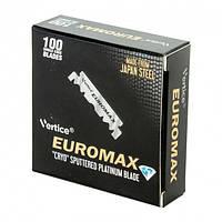 Леза половинки Euromax 100 Singel Edge Razor Blades 100 шт