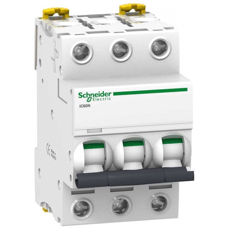 Автоматичний вимикач Schneider Electric Acti 9 iC60N(H) 3p 25A C 6kA A9F79325