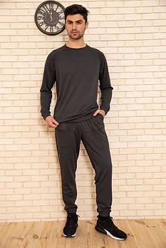 / Размер S, M, L / Мужской легкий спортивный костюм 102R175 / цвет грифельный