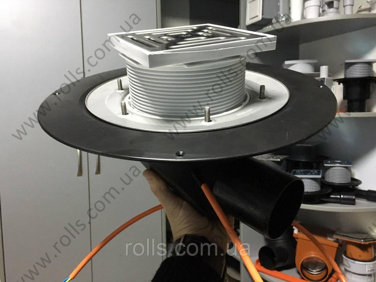 HL64.1B Воронка с электроподогревом c горизонтальным выпуском DN75/110  (Австрия)