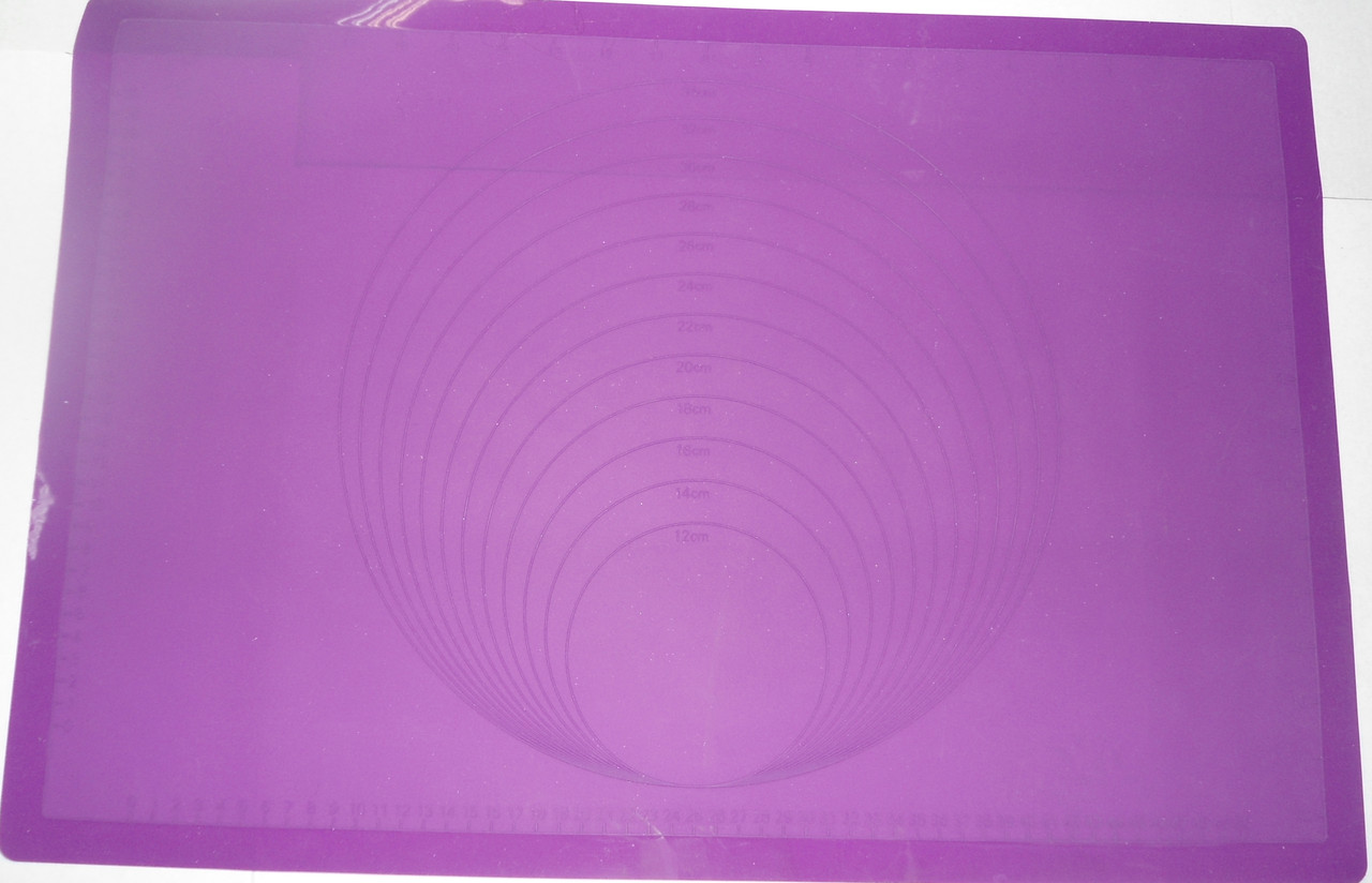 Салфетка силиконовая мерная с разметкой всередине (код 04559)
