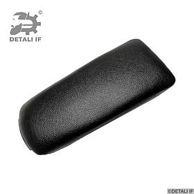 Кришка підлокітника Audi A6 C5 чорна еко шкіра петлі 0.8 mm