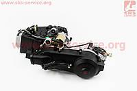 Двигатель скутерный в сборе 125куб (короткий вариатор, длинный вал) (307074)