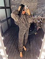 Женский стильный махровый спортивный костюм, фото 1