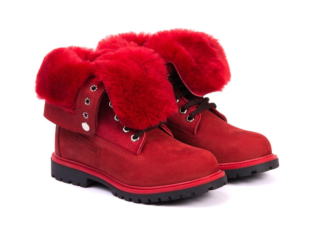 Ботинки Etor 10315-2298-740 красные