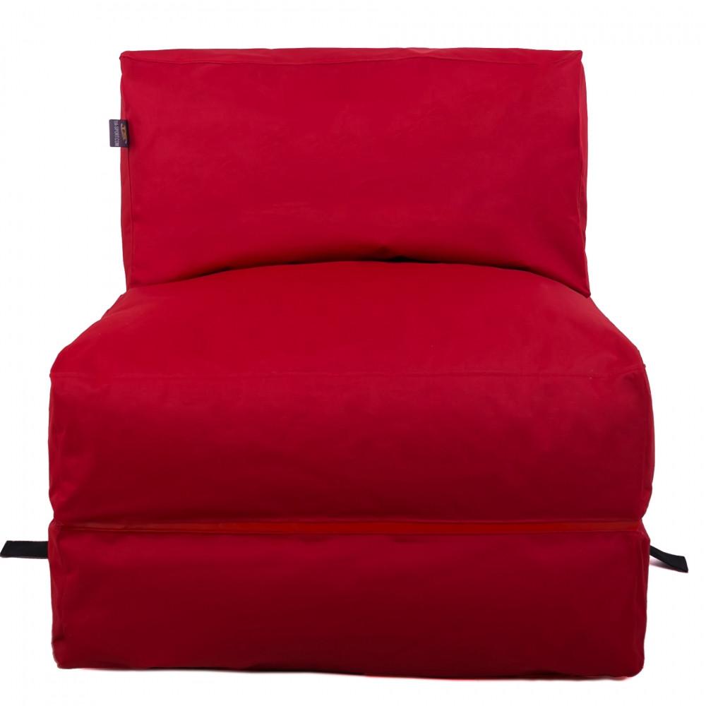 Бескаркасное кресло раскладушка