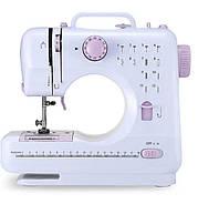 Портативная многофункциональная швейная машинка SEWING MACHINE FHSM-505 Белая