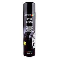 Аэрозольный блеск для шин Motip Black Line Tyre Shine 600 мл (000711)