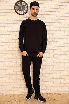 / Размер S, L / Мужской легкий спортивный костюм 102R175 / цвет черный