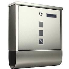 Почтовый ящик для писем и газет для частного дома Moderna