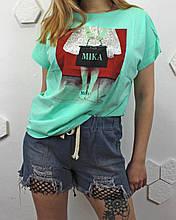 Женские джинсовые шорты (уп.6 шт)