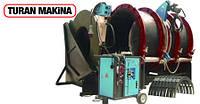 Аппарат для стыковой сварки полиэтиленовых труб Turan Makina AL 800, сварочный аппарат сварки пластиковых труб