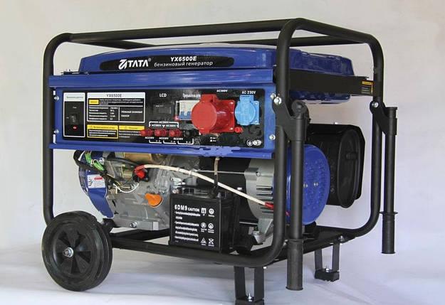"""Генератор """"ТА-ТА"""" YX 6500Е бензиновый (5,5 кВт, электростартер, 3 фазы), фото 2"""