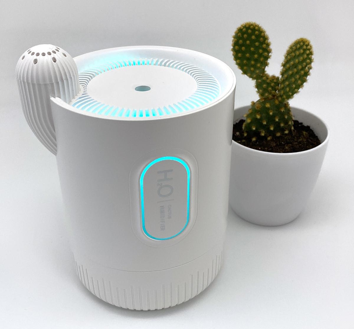 Увлажнитель воздуха аромадиффузор Wi-Aroma. Диффузор увлажнитель для арома-терапии беспроводной