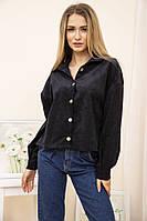 Бомбер женский 115R386 цвет Черный