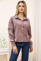 Бомбер женский 115R386 цвет Пудровый