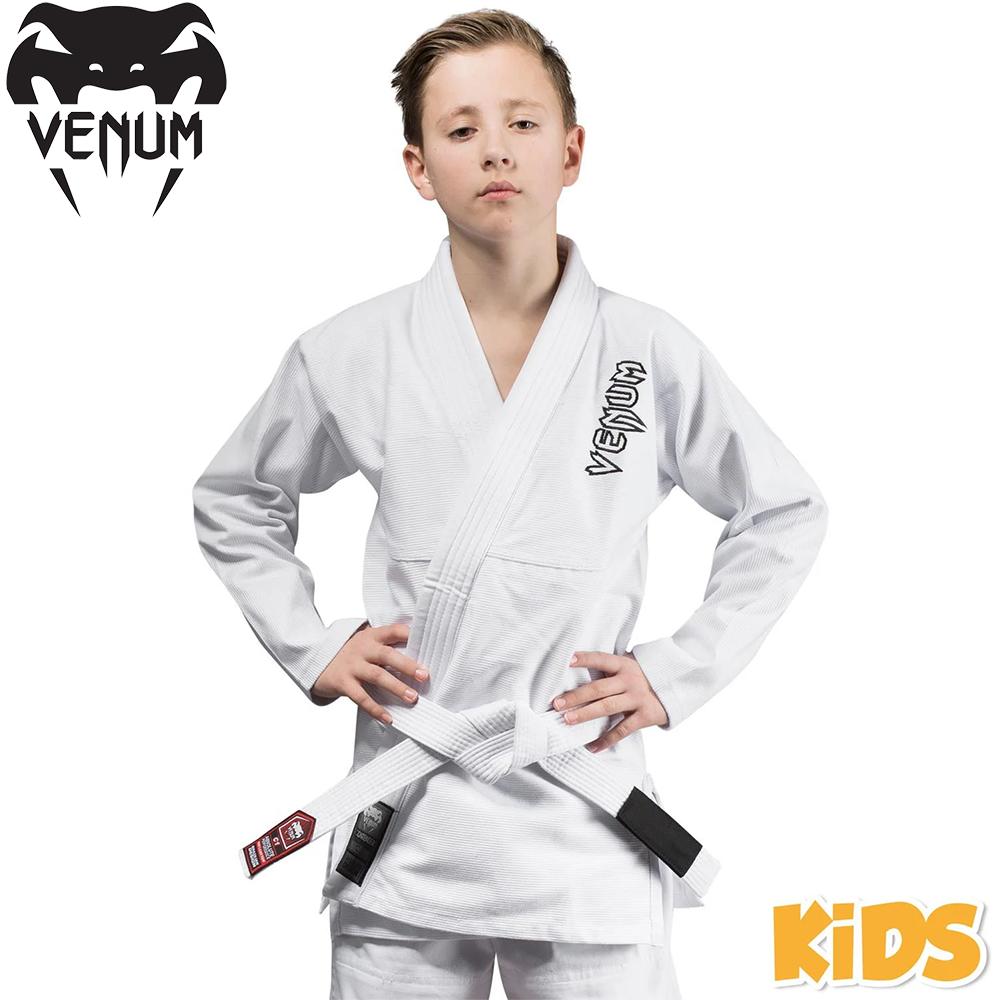 Детское кимоно для джиу-джитсу Venum Contender Kids BJJ Gi White