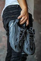 Кроссовки Adidas Yeezy 700 Black 36-45 р. Кроссовки Адидас Изи 700 черные