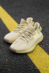 Кроссовки Adidas Yeezy 350 Flax 36-45 р. Кроссовки Адидас Изи 350 жёлтые