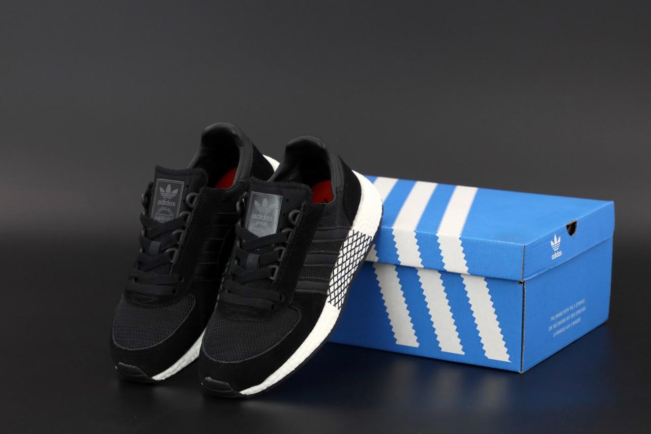 Черные мужские Кроссовки Adidas Marathon