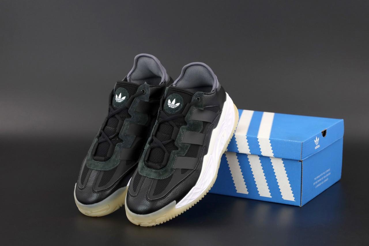 Чорні чоловічі Кросівки Adidas Niteball