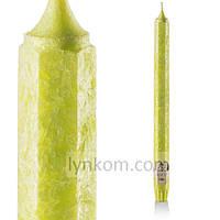 Лайм свеча шестигранная ароматическая декоративная 1 шт