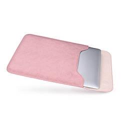 """Чохол SLIM для Macbook Macbook 12/ Air11.6"""" - Рожевий"""