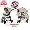 ЦВЕТА В НАЛИЧИИ ДОЖДЕВИК+МОСКИТНАЯ СЕТКА Всесезонная прогулочная коляска CARRELLO Quattro CRL-8502, фото 2