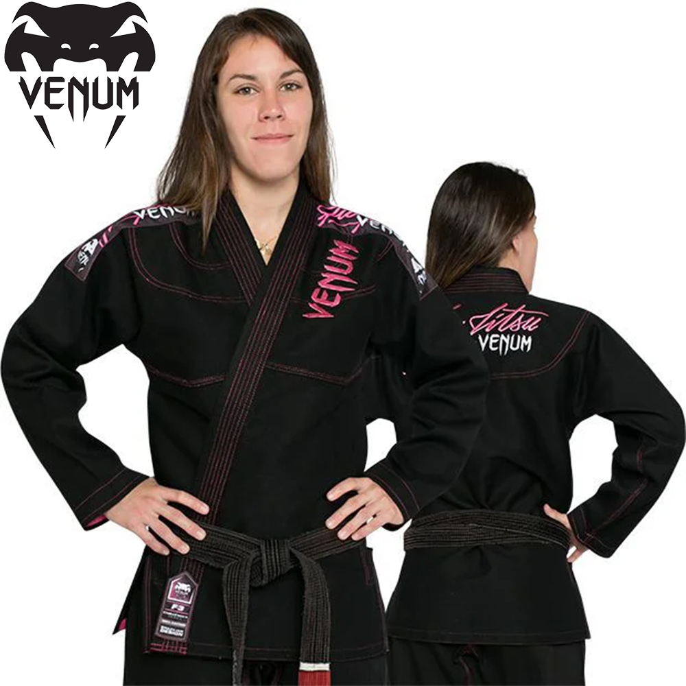 Жіноче кімоно для джиу-джитсу Venum Challenger 2.0 Women BJJ GI Black