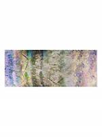 Палантин женский нежный с нотами в 4х цветах XQ44-0807