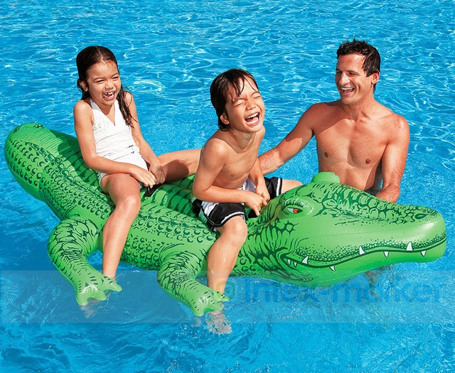 "Надувная игрушка ""Крокодил"", фото 1"