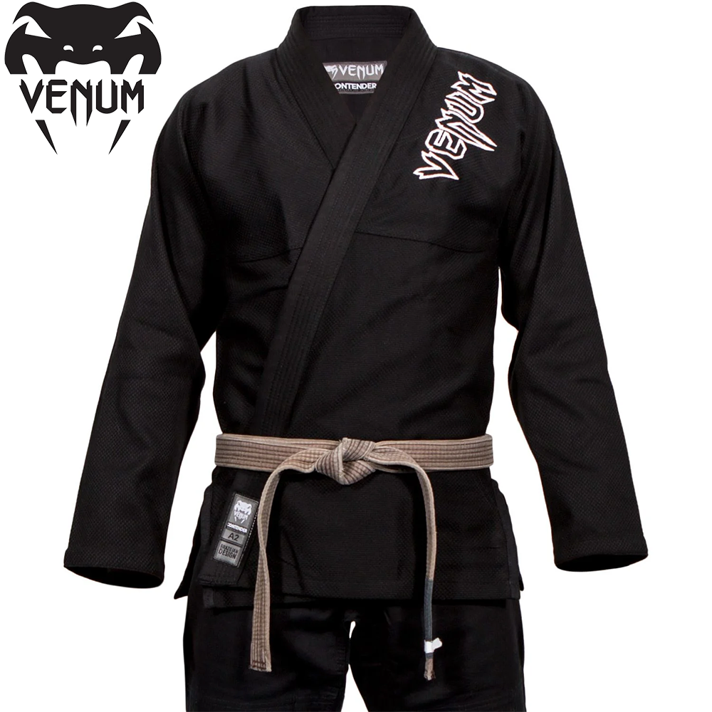 Кимоно для джиу-джитсу Venum Contender 2.0 BJJ Gi Black
