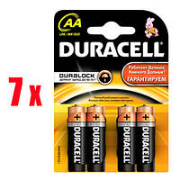Duracell Basic Alkaline АА 28 шт + Basic Alkaline ААА 28 шт + TurboMax AA 4 шт + TurboMaxAAA 4 шт НАБОР