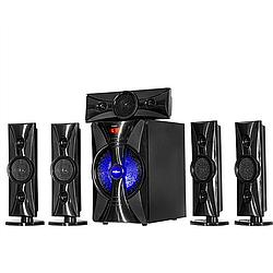 Акустична система 5.1 з сабвуфером,музичний центр Ailiang 100W