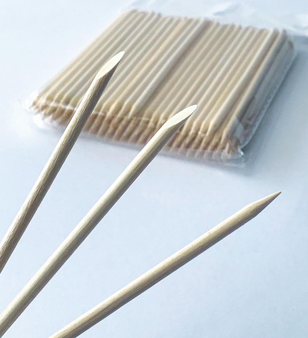 Апельсиновые палочки для маникюра, 11 см (100шт/уп)