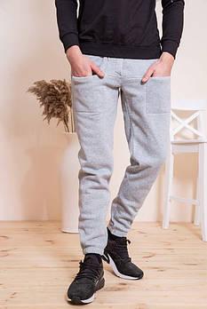 / Размер XXL,XXXL / Мужские спортивные штаны 102R143 / цвет серый