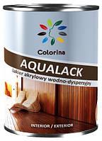 Лак панельный шелковисто-матовый AQUALACK COLORINA 0.75 л