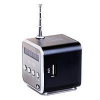 Портативная мультимедийная колонка мини куб TD-V26 NX