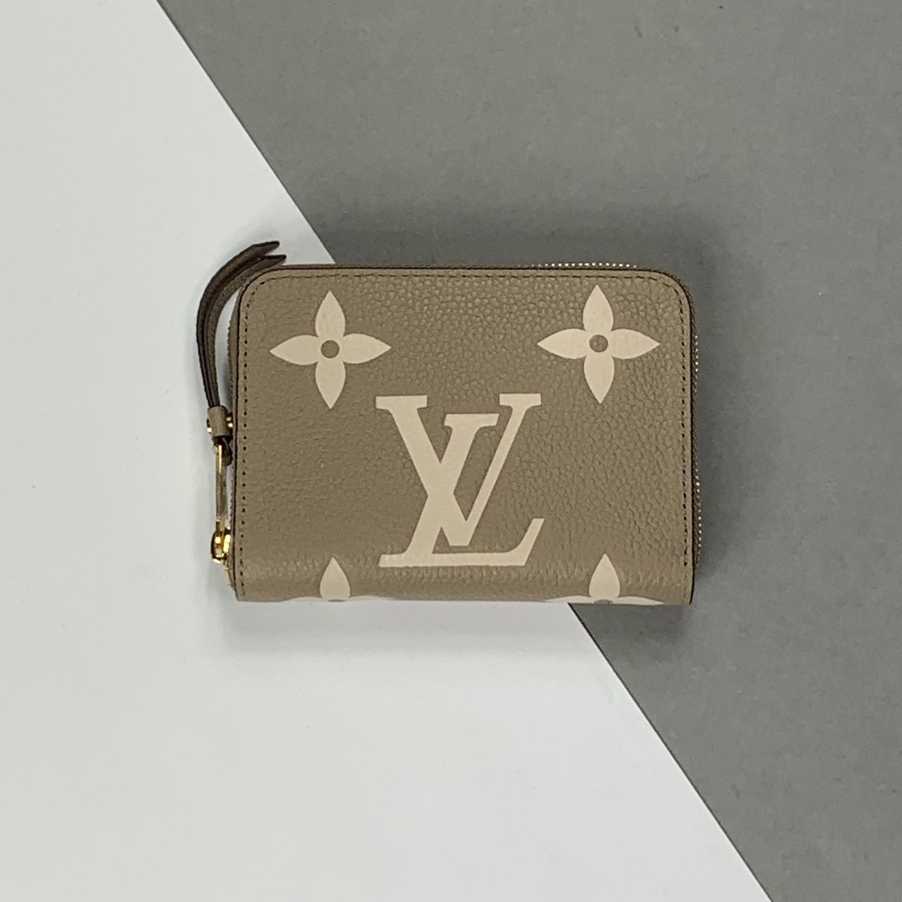 Кошелек Louis Vuitton Zippy Monogram Empreinte бежевый (Луи Виттон Зиппи) арт. 22-153